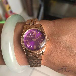 Mk purple watch